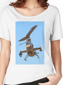 Israeli Air force (IAF) helicopter, Bell AH-1 Cobra in flight Women's Relaxed Fit T-Shirt