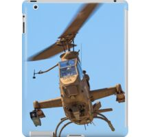 Israeli Air force (IAF) helicopter, Bell AH-1 Cobra in flight iPad Case/Skin