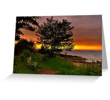 Rosemarkie Bay In The Sunrise Two. Greeting Card