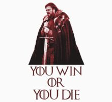 you win or you die red by red-rawlo