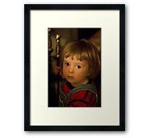 Vermeer-like photograph Framed Print