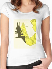 Run Rabbit Run : Such a Good Boy Women's Fitted Scoop T-Shirt