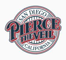 pierce the veil Baseball One Piece - Short Sleeve