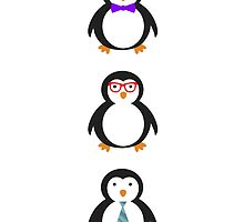 Penguin Trio by FangirlFuel