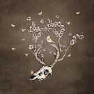 Life 2 - Sepia Version by Paula Belle Flores