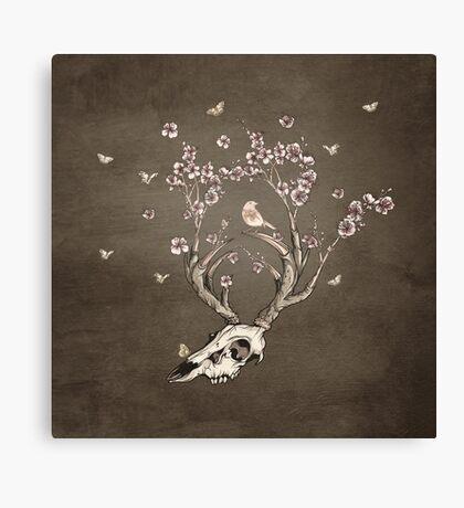 Life 2 - Sepia Version Canvas Print