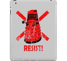 Resist the Daleks! iPad Case/Skin