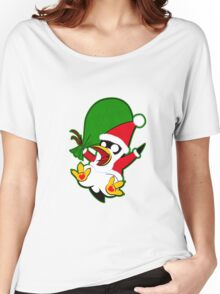 Hippo the Christmas Penguin! Women's Relaxed Fit T-Shirt