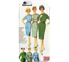 Simplicity Pattern 3574 : Circa Mid 1950's  iPhone Case/Skin