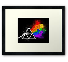 Dark side of the sages Framed Print
