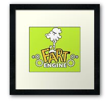 Fart Engine Hilarious Framed Print