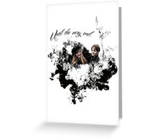 "James and Lily Potter ""Until The Very End"" Greeting Card"