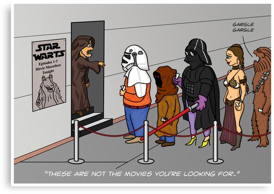 Not The Movies You're Looking For by Thingsesque