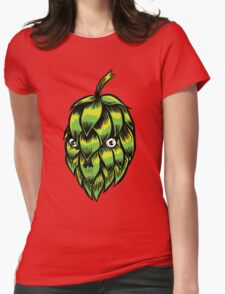 HOP SKULL Womens Fitted T-Shirt