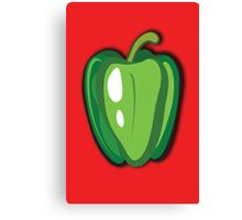 Green Pepper Canvas Print