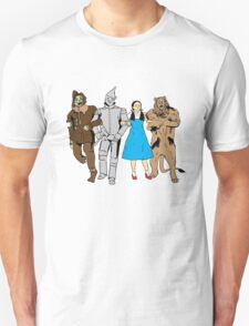 Why does the scarecrow keep saying 'brains'?! T-Shirt