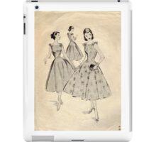 Mc Calls Pattern 3659 : Copyright 1953 iPad Case/Skin