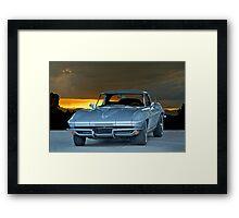 1965 Corvette Stingray Framed Print
