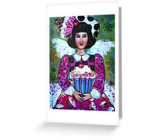 CANDY THE CUP CAKE ANGEL  Greeting Card