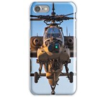 Apache AH-64A (Peten) Helicopter in flight iPhone Case/Skin