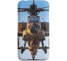 Apache AH-64A (Peten) Helicopter in flight Samsung Galaxy Case/Skin