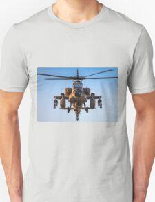 Apache AH-64A (Peten) Helicopter in flight T-Shirt