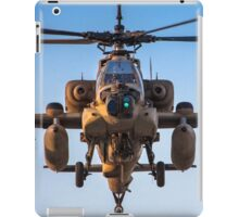 Apache AH-64A (Peten) Helicopter in flight iPad Case/Skin