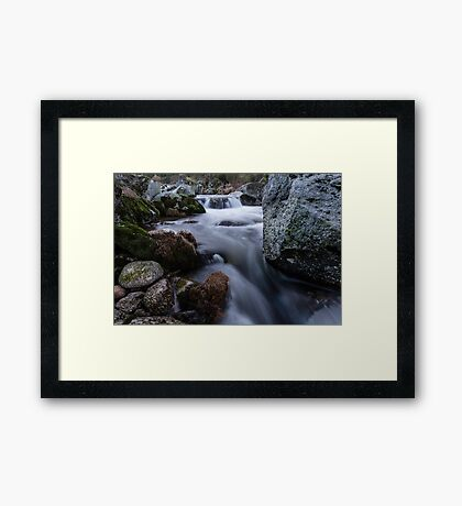 Sound of the Mountain Framed Print