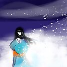 Yuki Onna: Snow Maiden by sandpaperdaisy