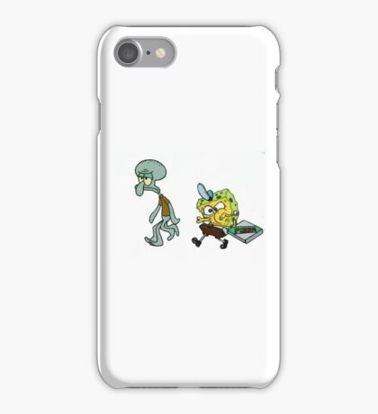 Krusty Krab Pizza  iPhone Case/Skin