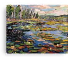 Yankeetown Pond Canvas Print