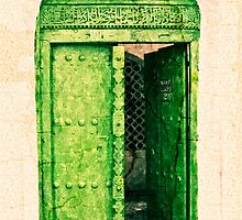 The Green Door by Amyn Nasser