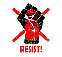 Resist the Daleks (still)! Photographic Print