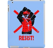 Resist the Daleks (still)! iPad Case/Skin
