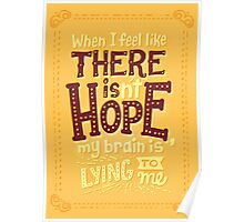 There is hope Poster