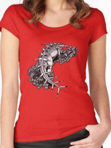 Kentrosaurus Women's Fitted Scoop T-Shirt