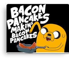 Bacon Pancakes Canvas Print