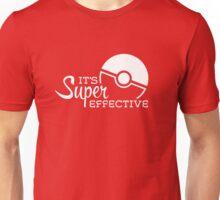 Super Effective (White) Unisex T-Shirt