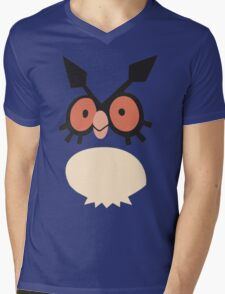Hoothoot Mens V-Neck T-Shirt