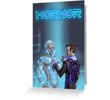 Mormortron Greeting Card