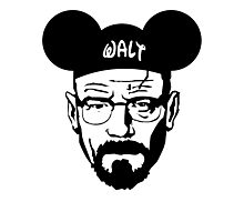 WALT MOUSE EARS Photographic Print