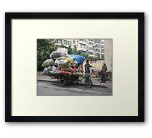 On the Road by Mike Wong Framed Print