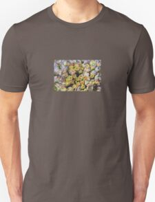 Purple and Yellow Floral Machine Dreams T-Shirt