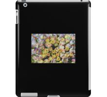 Purple and Yellow Floral Machine Dreams iPad Case/Skin