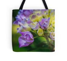 A Sea of Purple, Yellow, and Green Tote Bag