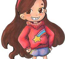 Gravity Falls - Mabel by Meggsikitty