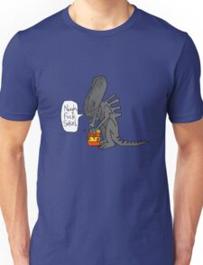 Alien Vs Jam jar Unisex T-Shirt