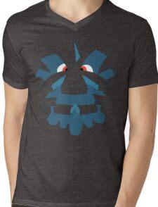 Pineco Mens V-Neck T-Shirt