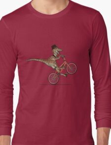 Dino Bike Long Sleeve T-Shirt