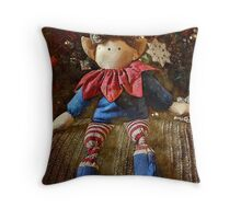 Christmas Elf Throw Pillow